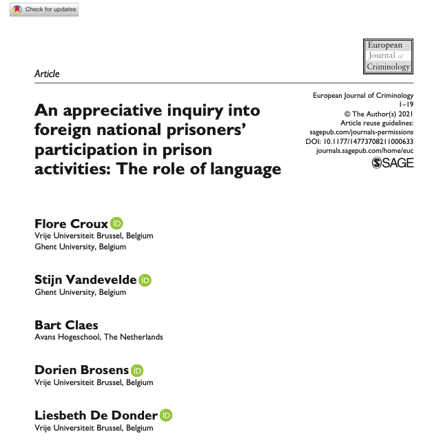 Article the role of language